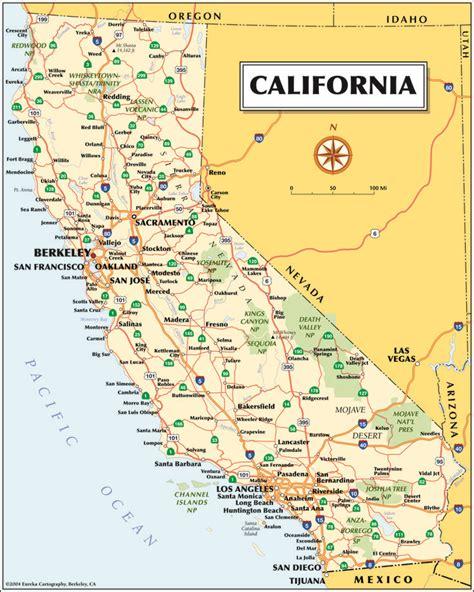 map  california    pix america