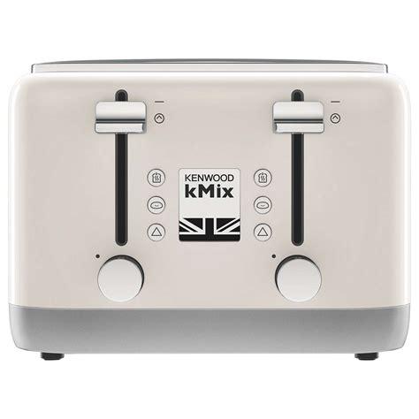 kenwood toaster kmix kenwood kmix tfx750 4 slice toaster at lewis