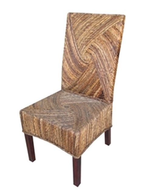 banana leaf swirl style dining chairs auction
