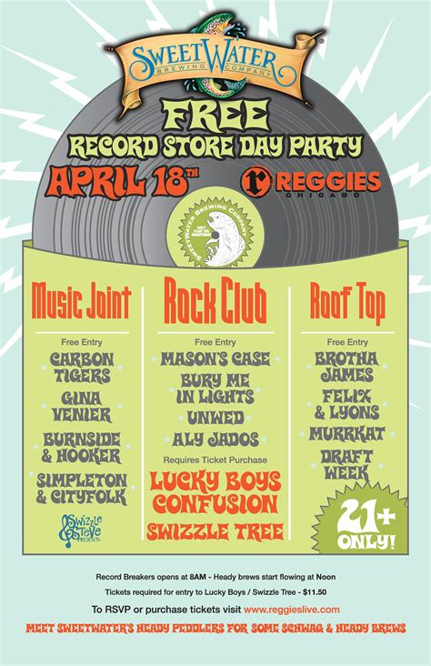 sweetwater brewing presents rsd rooftop takeover reggies