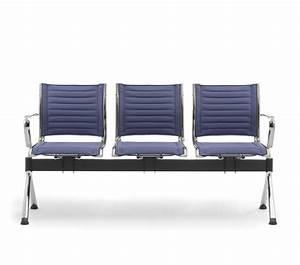 Poltrone su panca per atrio e sala d'attesa Leyform