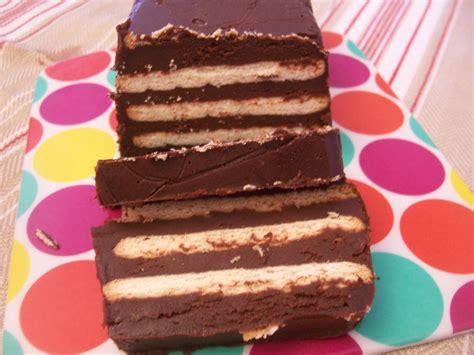recette avec petit beurre et chocolat