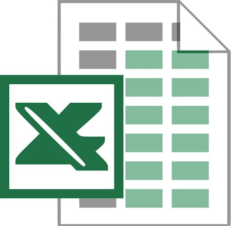 file xls icon svg wikimedia commons
