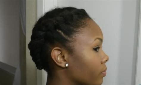 quick hairstyles for natural african american short hair