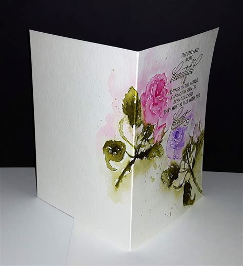 watercolor cards penny black cards
