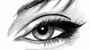 Drawing Lesson  How To Draw Eyes