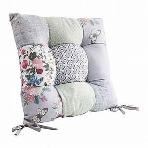 Galette De Chaise Maison Du Monde : coussin de chaise patchwork powder 40x40cm kare design ~ Melissatoandfro.com Idées de Décoration