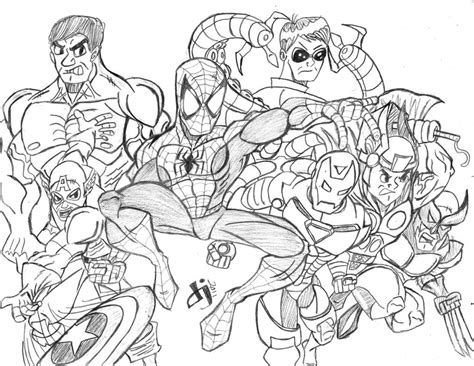 coloring pages marvel the avengers colouring pages the