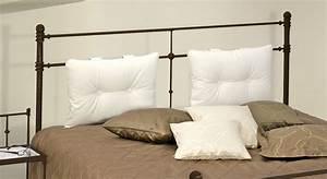 Bett Kopfteil Kissen : doppelbett aus metall 180x200 in komforth he astara ~ Michelbontemps.com Haus und Dekorationen