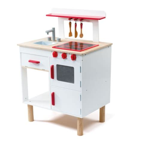 grande cuisinière en bois cook oxybul pour enfant de 3 ans