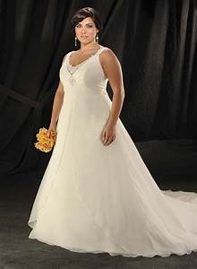 Inspiring plus size wedding dresses with straps wedwebtalks for Plus sized wedding dresses