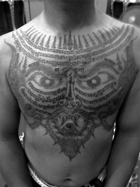 Sak Yant | Sak yant tattoo, Thai tattoo, Muay thai tattoo