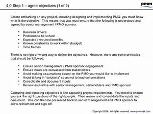 Pmo Objectives
