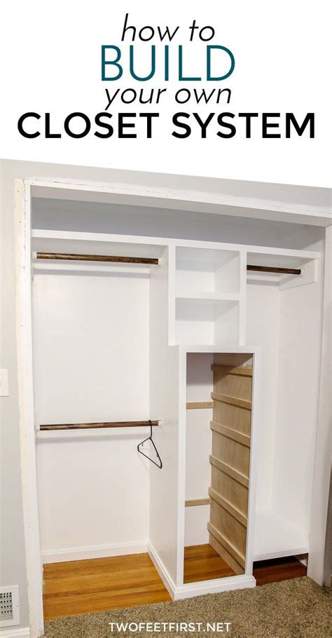 25 best ideas about build a closet on