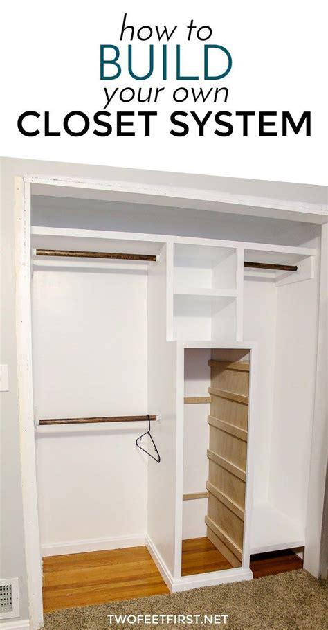 how to build a closet system build a closet system part 1 spaces closet remodel