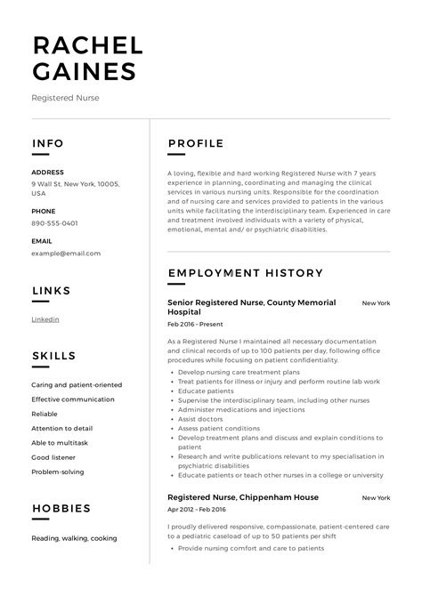 Resume Registered by Registered Resume Sle Writing Guide 12