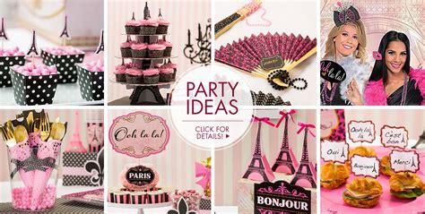 paris france party decorations decoratingspecialcom