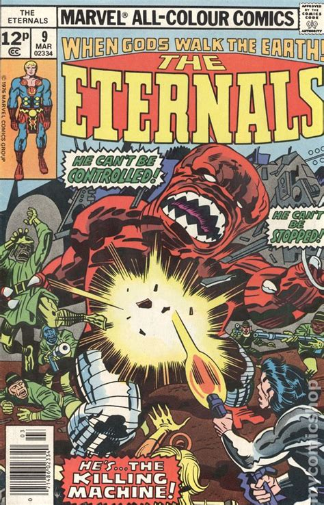 Eternals (1976) UK Edition comic books