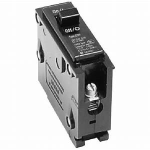 120  240 Vac 30 A Br Circuit Breaker 1 Pole Plug