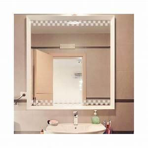 sticker de vitre frise damier decoration salle de bain With vitre pour salle de bain