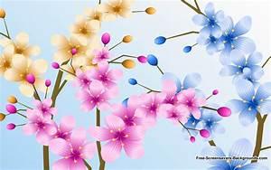 Free Screensavers Wallpaper Flowers - WallpaperSafari