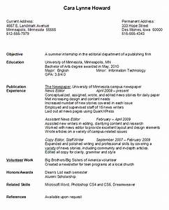 college graduate resume example With best resume for college students