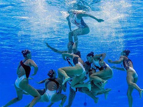 donaunixen synchronschwimmen beim tsv  neuburgdonau