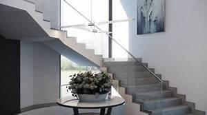 Prix Escalier Beton : prix d 39 un escalier en b ton tarif moyen co t de ~ Mglfilm.com Idées de Décoration