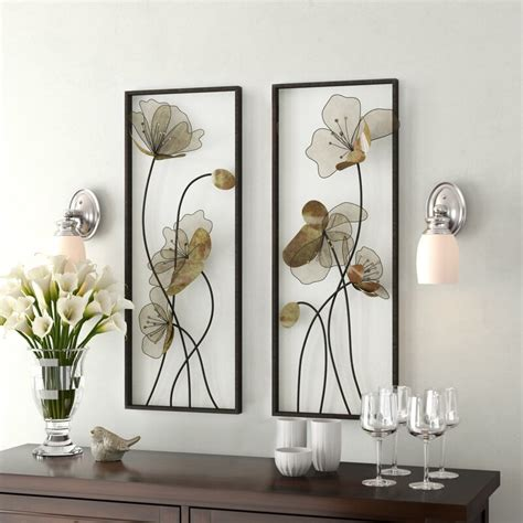 1.5 out of 5 stars with 2 ratings. Latitude Run Metal Wall Décor Set & Reviews | Wayfair