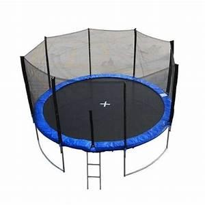 Prix D Un Trampoline : ranger un trampoline avec filet facilement ~ Dailycaller-alerts.com Idées de Décoration
