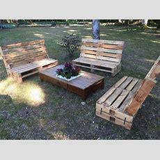 Outdoor Wooden Pallet Furniture  Pallet Ideas