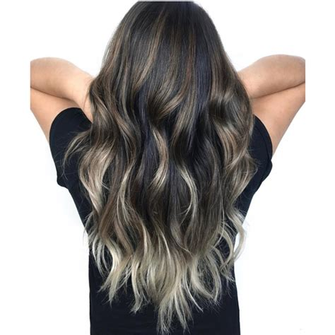 trouble  silver balayage   tips