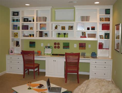 Built In Desk Cabinets by Built In Cabinets Traditional Home Office Dc Metro