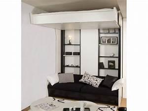Lit Escamotable Plafond : 17 best images about lits escamotables on pinterest ~ Premium-room.com Idées de Décoration