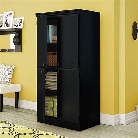 Black Storage Armoire 6 Best Storage Armoires Of 2019 Easy Home Concepts