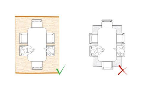 tappeti per tavolo arredaclick come posizionare un tappeto in salotto