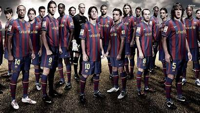 Barcelona Fc Wallpapers Barca Squad Players Wallpapertag