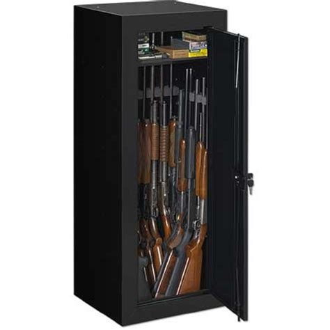 Stack On 14 Gun Security Cabinet Black by Stack On 22 Gun Steel Security Cabinet With Bonus Door