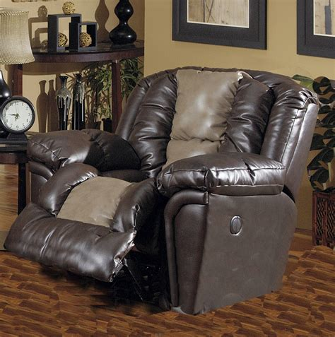 chaise valentino jaguar power chaise recliner in valentino two tone leather
