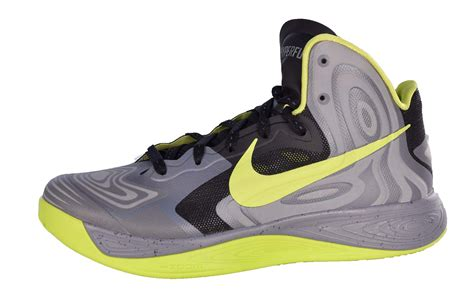 nike mens hyperfuse supreme basketball shoes cool grey