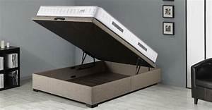 Sommier Coffre 160x200 : styl des solutions d co ~ Teatrodelosmanantiales.com Idées de Décoration