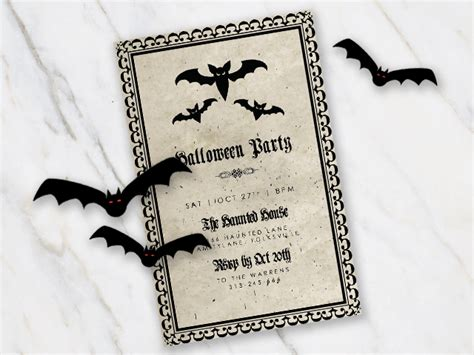 Free Printable Halloween Party Invitations 2018 [ Template] Business Card Dimensions Centimeters Letter Example In Philippines Reprimand Sample Plan High School Students Distributor Governance Jewelry Dog Boarding