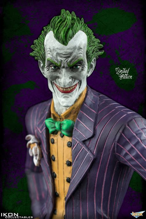 Batman: Arkham Asylum Statue   Arkham City The Joker