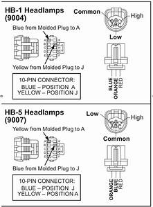 8436 Western Fisher Hb1 Or Hb5 4 Port 3 Plug Wiring Kit
