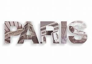 3d paris printed 3d letter wall artcom With paris letters