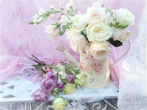 shabby chic flower bouquet dreamy romantic shabby chic spring roses spring romantic bouquet of roses shabby chic floral