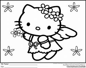 Hello kitty – hello kitty princess coloring pages | BIG ...