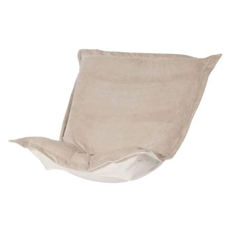 puff chair replacement cover with cushion sand