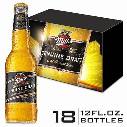 Draft Miller Genuine Oz Beer Bottles American