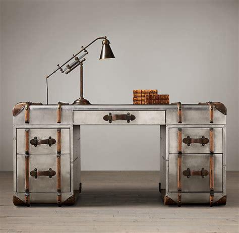 restoration hardware office desk the well appointed catwalk home office week the desks